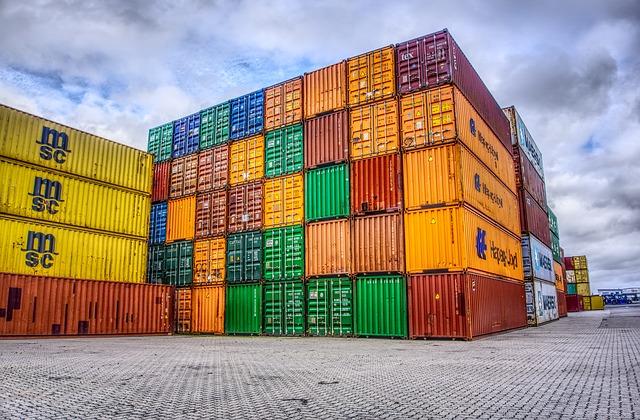 inboedel in container